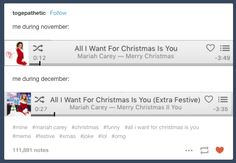 On even more Mariah Carey: | 23 Tumblr Posts About Christmas That Will Make You Laugh Every Time