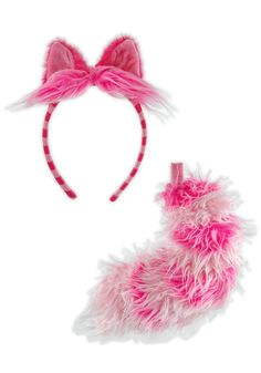 Cheshire Cat Ears Headband and Tail. More