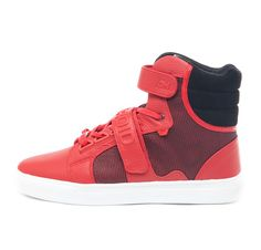 AH Propulsion Hi - Red Grid Sneakers #sneakers #shoes