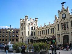 Train station & Plaza de toros, Valencia
