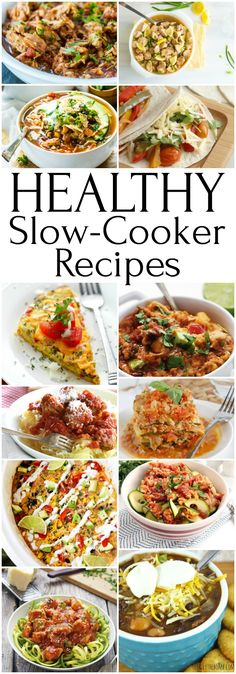 Healthy Crock Pot Recipes For a New You! Healthy Slow Cooker Recipes To Ring In The New Year – Total Healthy Slow Cooker, Crock Pot Slow Cooker, Healthy Crockpot Recipes, Slow Cooker Recipes, Crockpot Meals, Healthy Crock Pots, Freezer Recipes, Healthy Chicken, Healthy Meals
