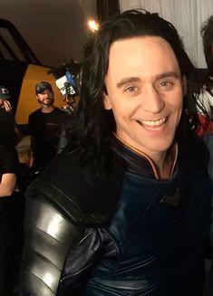 Tom Hiddleson as Loki