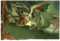 Charles Vess is amazing...Green Man lives