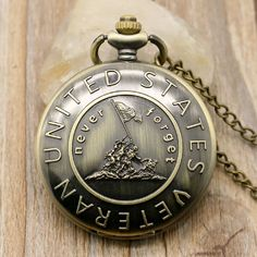 FREE U.S. Veterans Pocket Watch With Chain - http://www.thebookandcranny.com/free-u-s-veterans-pocket-watch-with-chain/
