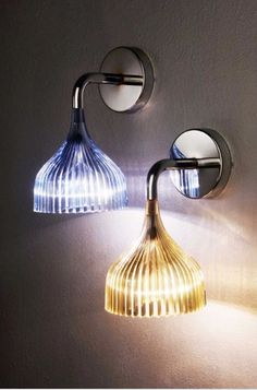 'E Wall Sconce by Kartell. @2Modern'