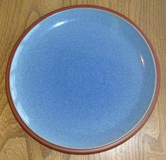 Denby Harlequin Green/Blue Dinner Plates BRAND NEW | Dinnerware ...