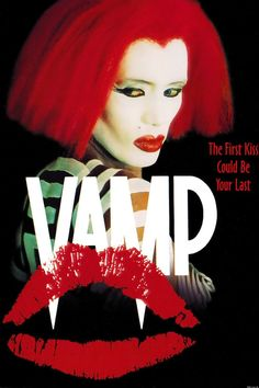 """Vamp (1986)- Grace Jones has a scary vampire queen role in this '80s vampire romp. It's got a lot of flavor of the decade. I especially love the use of formica, a plastic made to look like wood and used in cheap furniture. My favorite line is, """"I can hear the blood running through your veins."""" Did I mention this is also a comedy, somehow?"""