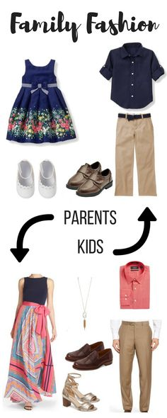 It's always hard to dress your whole family, so I'm taking the guess work out for you. I'm giving you some ideas on how to dress the whole family for Easter or a Wedding. One set of outfits for two events, winning!