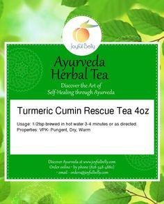 Turmeric Cumin Rescue Tea