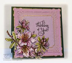 Power Poppy - The Blog: Hey Power Peeps! Card by Susie Lessard using Power Poppy's Azalea set!