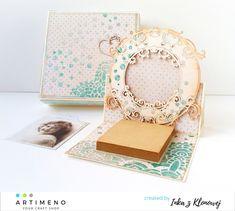 Blog sklepu Artimeno: Ramka na zdjęcie - kartka sztalugowa z pastami strukturalnymi Album, Blog, Blogging, Card Book