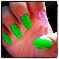 Stiletto Nails Tumblr | Finally decided to try stiletto nails!