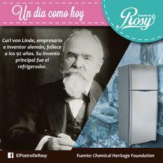 #Historia del refrigerador  #Postres #Puebla  www.facebook.com/ElPostreDeRosy