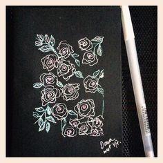 #roses #floralart #illustration #rosesillustration #studiodana Make Art, Art Day, Roses, Drawings, Illustration, Instagram Posts, Artwork, Painting, Work Of Art