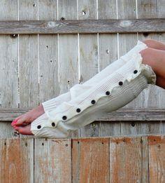 women's button down leg warmer, wholesale leg warmer