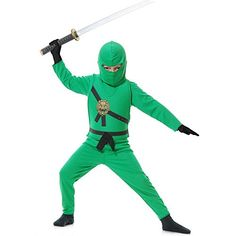 Black Friday Deal Jade Ninja Avenger Kids Costume from Charades Cyber Monday