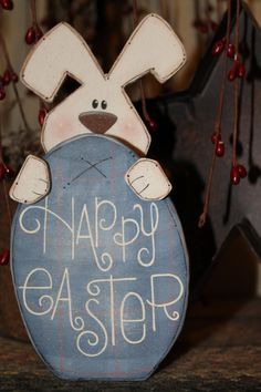 Easter decorations by Blue Creek on Etsy.