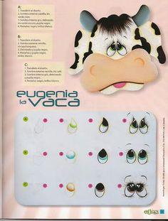 Revistas de manualidades gratis: Aprende a pintar ojos a las manualidades