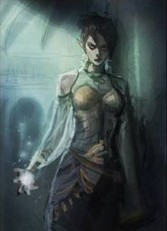Aasimar Warlock - Danialle Roseaqua