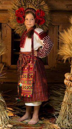 Ukrainian folk costume                                                       …