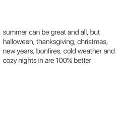 haha it's funny because halloween and christmas {we don't do thanksgiving} and new years and bonfires are all in summer in new zealand. ;p