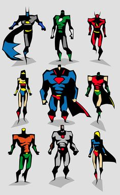 Bunka - Justice League