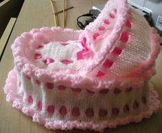 knitted crib pattern