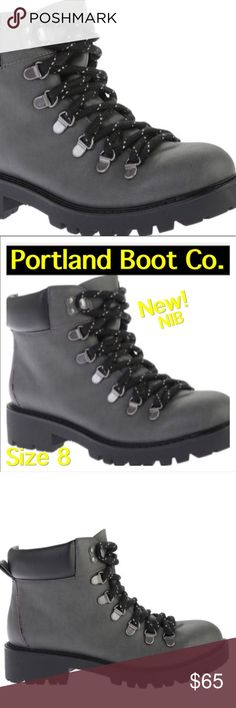 31170efd197 Spotted while shopping on Poshmark  NEW Black Lug Sole Hiking Combat Boots  Size Boot Company