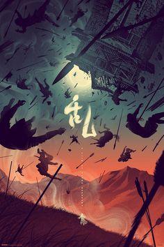 Ran (variant), by Kevin Tong #kevintong #ranprint