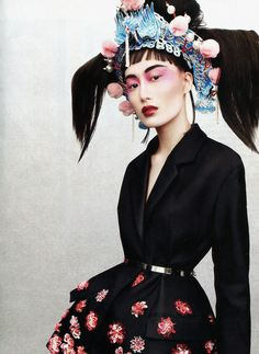 Shu Pei Qin by Jason Kibbler Jacket: Christian Dior S/S 2013 Vogue Russia April 2013