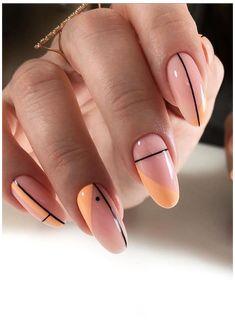 Almond Nails French, Almond Nail Art, Almond Acrylic Nails, Best Acrylic Nails, Fall Almond Nails, Short Almond Nails, French Nails, Chic Nails, Classy Nails