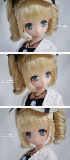 Secret Wonderland Miu repaint Doll Repaint, Doll Stuff, Ball Jointed Dolls, Cute Dolls, Doll Toys, Jessie, Neko, Bjd, My Best Friend