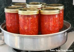 How to make Canned Tomatoes  | Tastes Better From Scratch