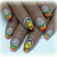 Jirafita Sexy Nails, Toe Nails, Magic Nails, Nail Decorations, French Nails, Nail Arts, Nail Colors, Nail Art Designs, Manicure