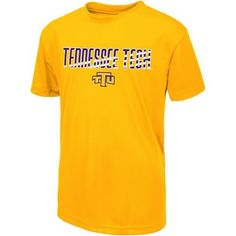 Colosseum Athletics Boys' Tennessee Tech University Team Stripe T-shirt (Gold, Size X Large) - NCAA Licensed Product, NCAA Youth Apparel at Academy...