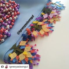 Crochet Necklace, Handmade Crafts