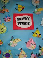 Angry Verbs...totally doing this tomorrow!