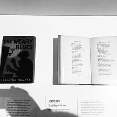 "Langston Hughes. Rare Book. ""The Weary..."