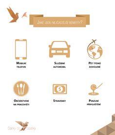 TOP6 nejčastějších zaměstnaneckých benefitů   Novinky   Dárky do obálky