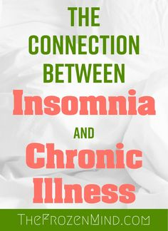 Chronic fatigue syndrome and fibromyalgia often have very similar treatments due to the fact that these two syndromes share a lot of common characteristics. If you are a chronic fatigue syndrome or fibromyalgia patient, the treatments Chronic Migraines, Chronic Illness, Chronic Pain, Fibromyalgia, How To Get Sleep, How To Stay Awake, Sleep Well, Effects Of Insomnia, Illness Quotes