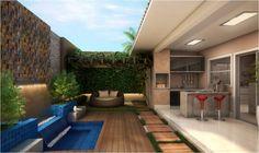 Construindo Minha Casa Clean: 12 Varandas Modernas com Piscinas e Pergolados!