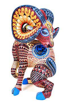 Oaxaca Wood Carvings Gallery I