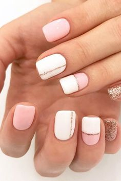 20 Beautiful Summer Nail Designs Summer Nails 39 Hottest Summer Nail Colors and Designs to Wear This Season Cute Summer Nail Designs, Cute Summer Nails, Pretty Nail Designs, Nail Summer, Spring Nails, Short Nail Designs, Stripe Nail Designs, Easy Nail Art Designs, Pedicure Summer