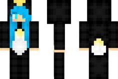 Penguin Costume Girl Minecraft Skin