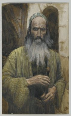James Tissot (French, 1836-1902). Saint Paul, 1886-1894. Opaque watercolor over graphite on gray wove paper, Frame: 21 1/4 x 16 1/4 x 1 1/2 in. (54 x 41.3 x 3.8 cm). Brooklyn Museum, Purchased by public subscription, 00.159.83 (Photo: Brooklyn Museum, 00.159.83_PS2.jpg)