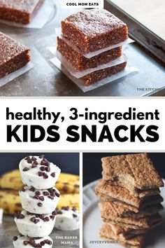 In the summer, when the kids are home, these snack recipes are on our go-to list for quick hold-overs until dinner is ready. Easy Snacks For Kids, Quick Snacks, Kids Meals, Kid Snacks, Yummy Snacks, Best Cookie Recipes, Snack Recipes, Healthy Recipes, Simple Recipes