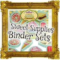 Sweet Supplies Binder Sets sugarlulu.com