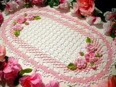 Crochet Towel For Decoration