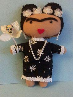 My Frida Kahlo doll