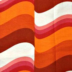 Vintage Fabric 60s